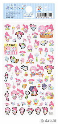 """Sanrio My Melody """"Summer"""" Paper Stickers (2012)"""