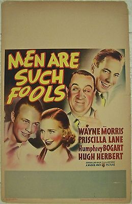 Reduced 70!! Men Are Such Fools '38 Wc Only Wb Art Bogart! Dir: Busby Berkeley!