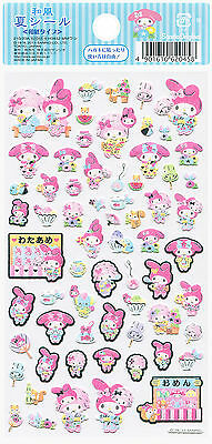 """Sanrio My Melody """"Summer"""" Paper Stickers (2013)"""
