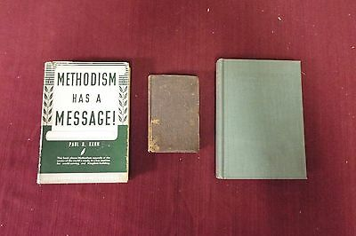 3 Books about Wesley/Methodism