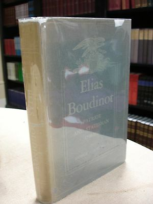 Elias Boudinot Patriot and Statesman written and signed by George Adams Boyd • CAD $158.11