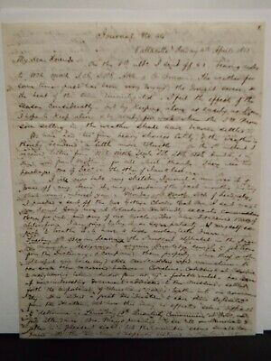 Samuel Fisk Green 1851 Manuscript Journal Signed - Bible
