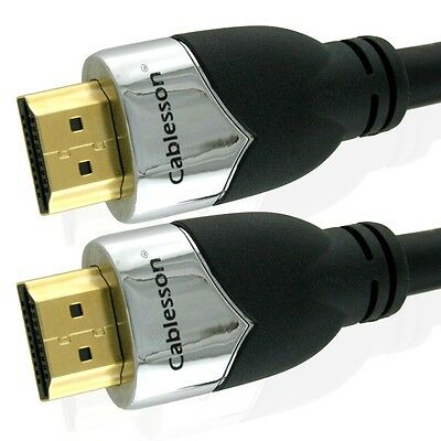 Cablesson Prime High Speed HDMI zu HDMI Kabel mit Ethernet / HDMI v.1.4/2.0