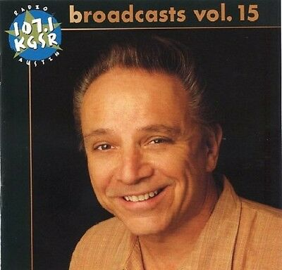 KGSR Broadcasts, Vol. 15 by Various Artists (CD, 2009) *SEALED *LIVE* 2-DISC