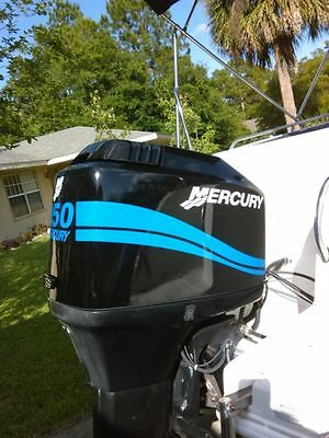 Mercury Outboard  25 - 275 HP Big foot Four stroke  Mercury Light Blue outboard