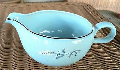 Vintage Gravy Boat White Wheat on Robin Egg Taylor Smith Taylor Replacement EVC