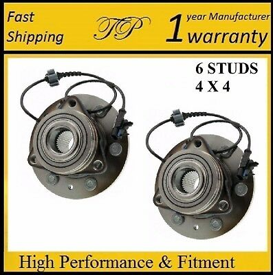 FRONT Wheel Hub Bearing Assembly for GMC Sierra 1500 (4WD) 2007 - 2013 PAIR