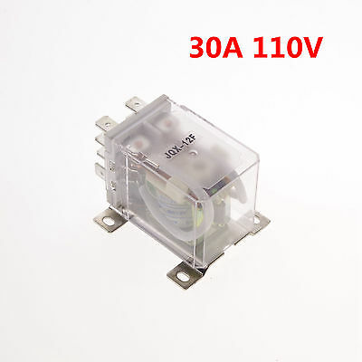 110VAC 30A DPDT Power Relay Motor Control Silver Alloy x 1