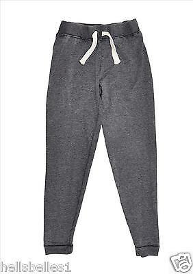 Girl's Wash Effect Skinny Grey Joggers/jogging Pants  7 8 9 10 11 12 13 Yrs