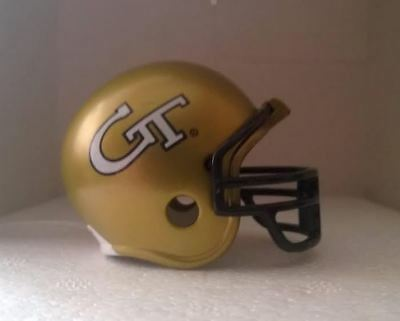Riddell American Football Pocket Pro Helmet GEORGIA TECH YELLOW JACKETS