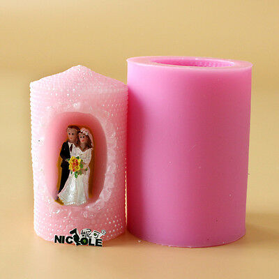 Silicone Candle Mold For Wedding Soap Craft Molds Handmade Decoration Tools