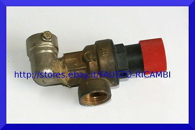 Vaillant Valvola Sicurezza 3 Bar 190717 105804 Caldaia Vmw It 240 242 280 282