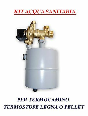 Instant Domestic Hot Water Heat Exchanger  Thermal Wood Stoves  Biomass Stoves