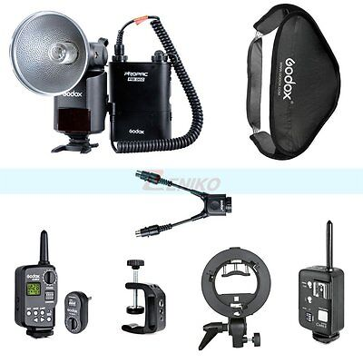 Godox AD-360 Outdoor Flash Kit & Softbox & Wireless High Speed Trigger For Canon