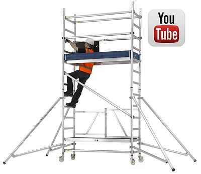 Mobile Scaffold Tower | Industrial Trade | Zarges Reachmaster Folding Scaffold