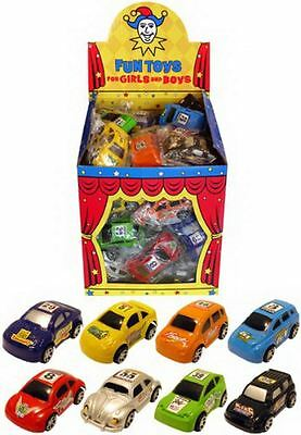 12 Assorted Mini Pull Back Race Cars Colour may vary