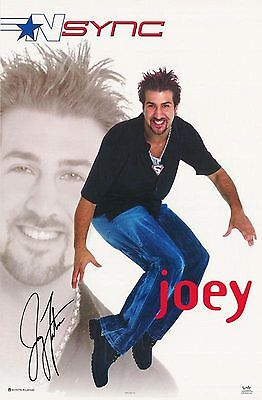NSYNC Poster - Joey - Vintage NEW - 7565 - FREE SHIPPING