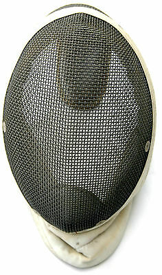 Two Vintage Santelli Fencing Mask   French Antique Foil Epee Sword Mask