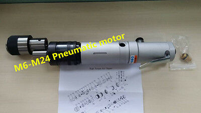 New M6-M24 Pneumatic motor for Pneumatic Tapping Machine M6 - M24 k