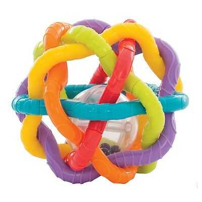 Brand New Playgro Teething Rattle Bendy Ball 6m+ BPA Free