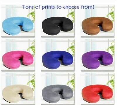 New U Shaped Travel Pillow Neck Head Support Airplane Cushion! Tons of Colors!