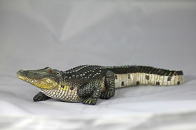 CRIKEY A CROC! 10.5 inch CROCODILE/ALLIGATOR ORNAMENT, 27cm,TERRARIUM DECORATION