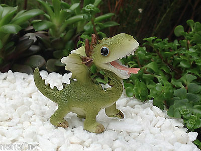 Miniature Dollhouse FAIRY GARDEN ~ Mini Dragon Figurine ~ NEW