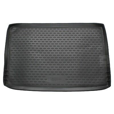 Skoda Yeti 09-16 Rubber Boot Liner Fitted Black Floor Mat Protector Tray Grip