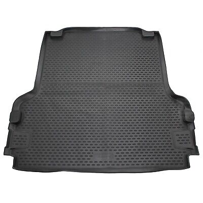 Volkswagen Amarok Double Cab 10-16 Rubber Boot Liner Fitted Black Mat Protector