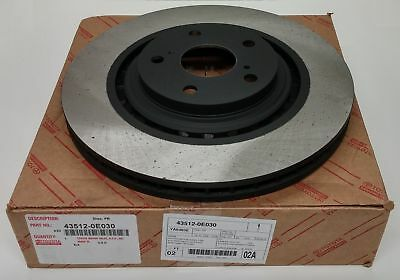 Toyota Highlander And Sienna Front Brake Rotor 43512-0E030