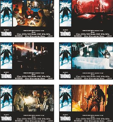 The Thing  6 Card POSTCARD Set