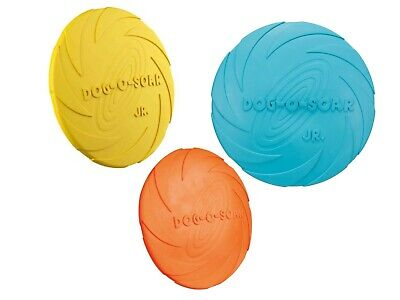 Dog Disc Naturgummi ø 15 -24cm Frisbee -Scheibe schwimmend Flying Fun Trixie