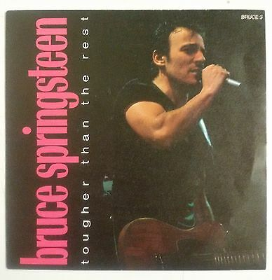 """Bruce Springsteen Tougher Than The Rest Single 7"""" UK 1988"""