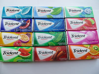 Trident with xylitol sugarless gum 18 stick pack - fresh
