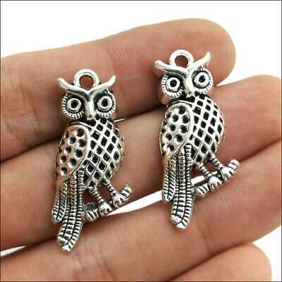 4//10//30pcs Big retro Jewelry Making DIY accs ghost alloy charm pendant 51x19mm