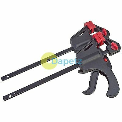 "2 X 4"" 100Mm Quick Rapid Lightweight Ratchet Bar Clamp Spreader Vice Grip Holder"