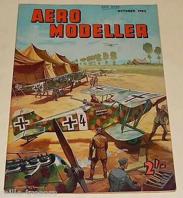 AERO MODELLER October 1960 Plans NORTHROP N.156 F Freedom Fighter + BEACONEER