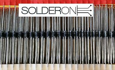 25pcs 1N4004 Rectifier Diode 1A 400V DO41 - Suitable 1N4001 Replacment