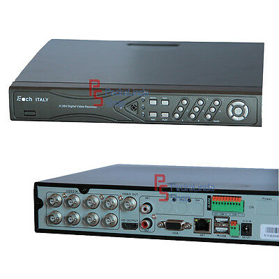 Pdr*dvr Hdmi 8 Canali Usb Lan Telecamere Videosorveglianza Iphone Android Each