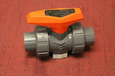 New George Fischer PVC-U Manual Ball Valve, 32mm 161546004 Food / Water socket