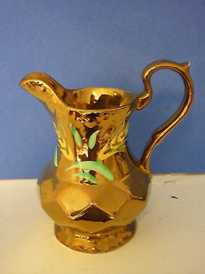 Wade Gold with Yellow and Green Jug