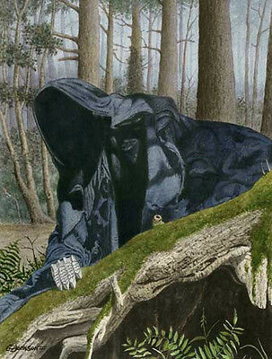 Ringwraith #3 Lord Of The Rings Art Print