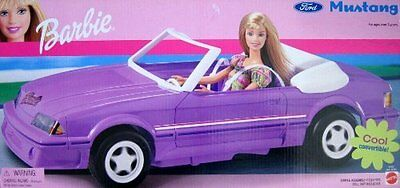 NEW Barbie Ford Mustang Cool Convertible Vehicle (2002)