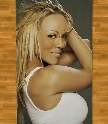 Mariah Carey Beach Towel NEW Summer Touch My Body Thirsty When You Believe