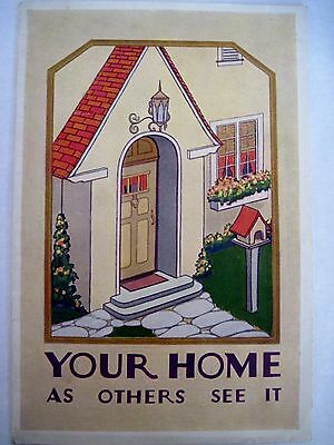 """Attractive 1925 """"Fuller Home Painting Booklet w/ Beautiful Color Pics of Homes"""