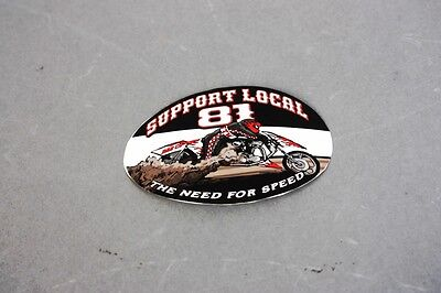 "Hells Angels Tucson, AZ USA - Need For Speed ""Support 81 Tucson"" - Sticker"