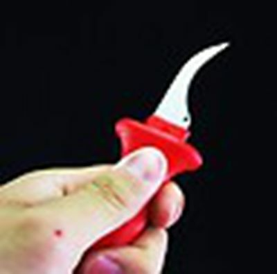 1 x Cable Knife Patent Fixed Hook Blade,Suitable for Sector Cables