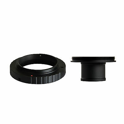 """T T2 Mount for Pentax K Cameras and Telescope Adapter with 0.965"""" Eyepiece Ports"""