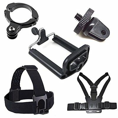 PhotR Accessories Smartphone Holder Chest Head Strap Handle Kit for GoPro 5 4 3+