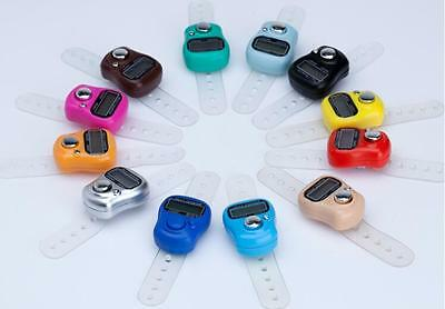New Mini 5 Digit LCD Electronic Digital Golf Finger Hand Held Tally Counter DICA